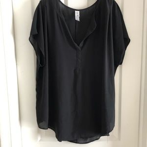 Pure Energy black blouse